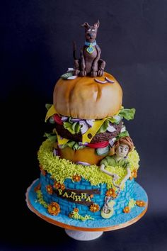 Scooby Doo cake by Delice