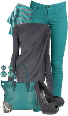 Turquoise casual