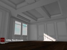 22769 ~[bauwerk] Little Penthouse available now inworld at 22769 ~ [bauwerk] and on SL-Marketplace