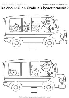 96 Best Boyama Images Day Care Preschool Preschools
