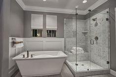 Bathroom ideas modern master bathroom modern bathrooms bathrooms grey white bathrooms gray and small bathroom modern . Bathroom Renos, Bathroom Layout, Bathroom Renovations, Bathroom Ideas, Bathroom Designs, Ikea Bathroom, Small Bathroom, Grey Bathroom Paint, Modern Master Bathroom