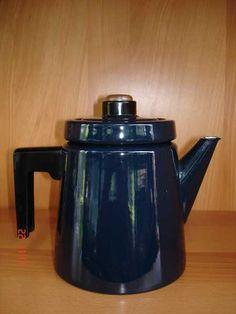 Pehtoorinpannu Kettle, Art Deco, Enamel, Kitchen Appliances, Retro, Finland, Life, Vintage, History