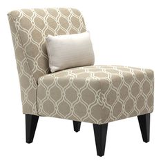 Merton Armless Lounge Chair - Overstock™ Shopping - Great Deals on Living Room Chairs