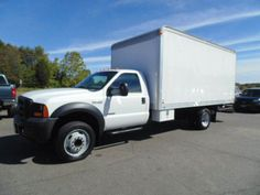 WWW.EMAUTOS.COM 2007 Ford F-450 Super Duty XL Regular Cab 4x2 DIESEL BOX TRUCK FOR SALE In Locust Grove VA - E & M Auto Sales #Emautos