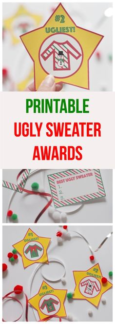 Printable Ugly Sweat
