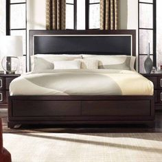 Casana Brooke Upholstered Panel Bed, Size: Queen - 216-901KQ