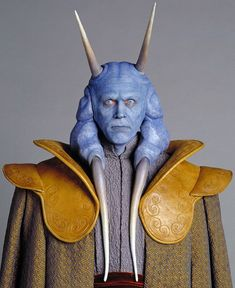 Mas Amedda was a male Chagrian who served as Vice Chair of the Galactic Republic's Senate under Supreme Chancellor Finis Valorum and Sheev Palpatine and later as the Grand Vizier of the Imperial Ruling Council and the second Emperor of the Galactic Empire. He was known for his booming voice, which he used to call for order when shouting matches erupted in the Galactic Senate. He continued to hold his position once Palpatine transformed the Galactic Republic into the Galactic Empire. After...