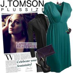 """J.TOMSON Plus Size - FABULOUS WOMENSWEAR!"" by jtomsonplus on Polyvore"
