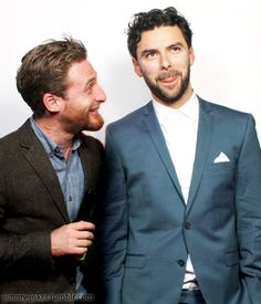"""""""We going to do this?"""" asks Dean of Aidan.""""Yeah."""" He clears his throat. """"Ladies, we will be right back."""""""