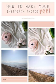 How To Make Your Instagram Photos Pop! | Wonder Forest: Design Your Life.