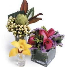 Three once-a-month flower deliveries from H.BLOOM's Arrange-Your-Own Collection, $87 at hbloom.com