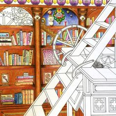"""""""Finally, come to the most difficult part: the ladders.  Still thinking about how and where should I start....... From The time chamber by Daria Song.…"""""""
