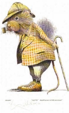 I do love Badger, but I think Ratty is still my favorite. :) (The Wind in the Willows) I love winter picnics too, dear Rat!