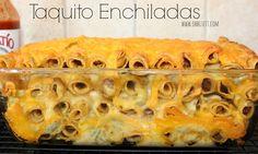 ~Taquito Enchiladas!