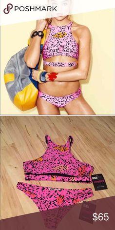 Beach Riot Bikini NWT. Medium. Beach Riot Swim Bikinis