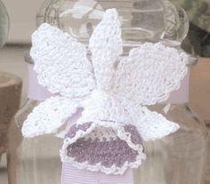 Crochet Orchid Flower free