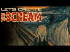My students LOVE Nate Heck's art videos. He's the Bill Nye of the Art World! In this video he gives you the background info on Edvard Munch's The Scream and shows you how to draw it yourself.