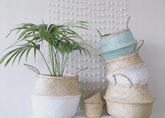 Shop our Seagrass baskets & planters online × SEA, SUN & SOUL