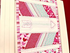 Doodlebug Design Inc Blog: Doodlebug Fabric: Sweetcakes Table Runner by Amy Chappell