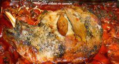 De délices en saveurs: Epaule d'agneau fondante et légumes rôtis au four ...