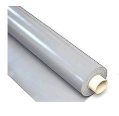 Comes In Tan Color To    PVC Roofing Membrane, 60 Mil, GRAY,