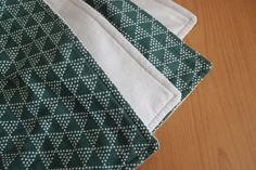 Baby Blanket Dotted Triangle Blanket by TheWakingHours on Etsy