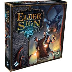 Elder Sign (1-8 players) (ages 12+) (cooperative game)