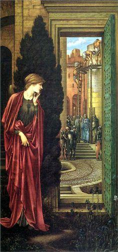 Danae And The Brazen Tower, Edward Burne-Jones.