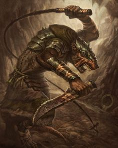 Skaven Packmaster - by faxtar