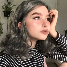Girl Trends, Fantasy Hair, Aesthetic Girl, Girl Face, Pretty People, Beautiful People, Hair Inspo, Pretty Hairstyles, Hair Goals