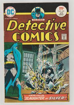 Detective Comics Vol 1 446 Bronze Age Comic by RubbersuitStudios