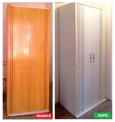Everyone had such cabinets, tables and chairs / Life Design Milk Paint Furniture, Refurbished Furniture, Painted Furniture, Diy Furniture, Home Decor Hooks, Diy Home Decor, Tall Cabinet Storage, Locker Storage, Bedroom Wardrobe