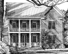 River Bluff - Mouzon Design   Southern Living House Plans