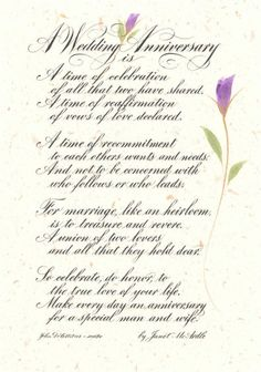 Anniversary wishes poems for husband | love | Pinterest ...