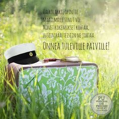 Finnish Words, Diy Presents, Enjoy Your Life, Powerful Quotes, Happy Day, Thoughts, Sayings, Cards, Graduation