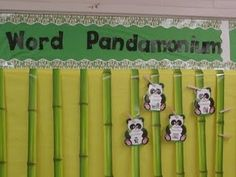 My classroom theme at some point will be pandas....