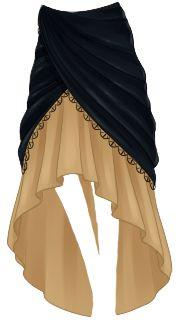 Resultado de imagen para usuario Anime Skirts, Anime Dress, Cosplay Outfits, Anime Outfits, Cool Outfits, Dress Sketches, Fashion Sketches, Fantasy Gowns, Dress Drawing