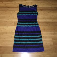 Forever 21 Striped Shift Dress Only worn a few times, really comfortable material Forever 21 Dresses