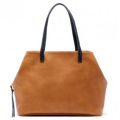 Cognac Oversize Tote   Miller   Free Shipping on Orders $50+