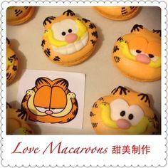 https://www.facebook.com/timmymacaroons ⭐️Cute Macaron⭐by Love Macaroons⭐️ Garfield 嘉菲貓 馬卡龍