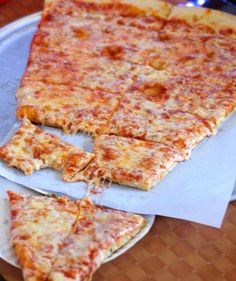 Lunch: Pizza Barn / Yonkers, NY / Giant 2 ft. pizza / $10-20 MAX.