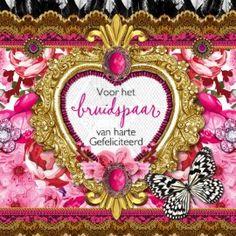 gefeliciteerd lief bruidspaar