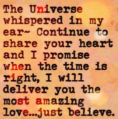 Universe Images, Just Believe, I Promise, How To Better Yourself, Funny Memes, Spirituality, Passion, Love, Amor