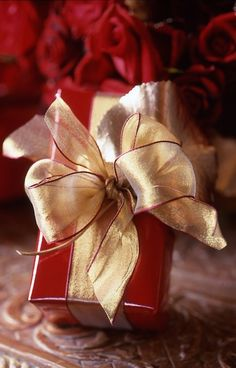 red & gold Christmas ✿⊱╮