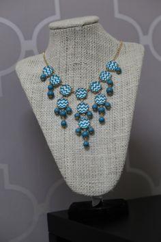 Chevron Bubble Necklace #shoptherage
