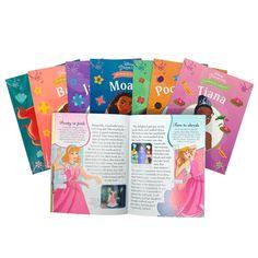 Disney Princess The Magical Collection 8 Books Box Set, Moana, Cinderella, Jasmine...