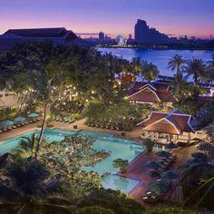 Hotel Anantara Bangkok Riverside Resort and Spa - Bangkok #HotelDirect info: HotelDirect.com