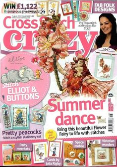 Gallery.ru / Фото #1 - Cross Stitch Crazy 166 август 2012 + приложение Free Вest of - tymannost