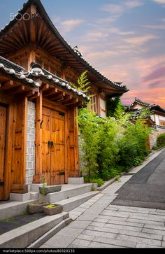 Bukchon Hanok Village - stock photo/S.Korea