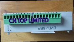 52.00$  Watch now - http://alitxx.worldwells.pw/go.php?t=32229566177 - DVP16SP11R Delta S Series PLC Digital Module DI 8 DO 8 Relay new in box